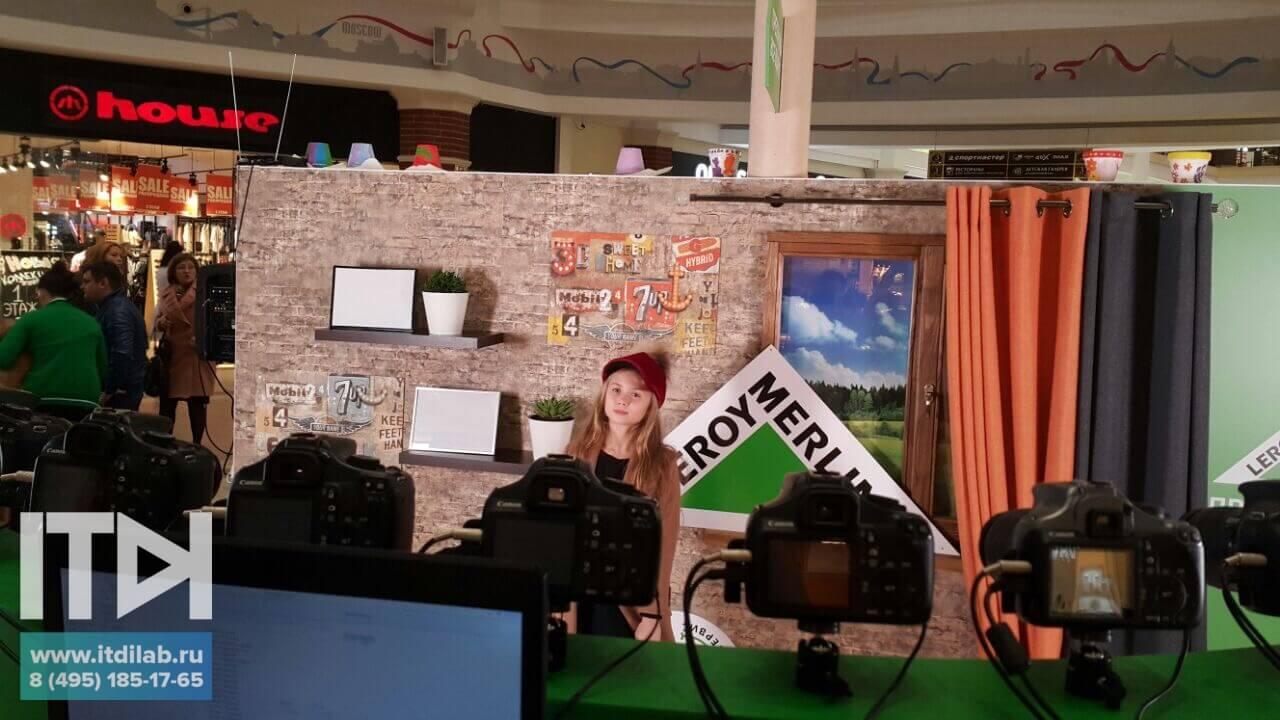 Интерактивная фотозона Bullet Time на мероприятии Leroy Merlin в Калининграде совместно с Appollo Digital
