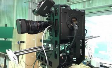 """Разработка  съемочного комплекса на роботизированная тележке для студии """" Россия 24"""""""