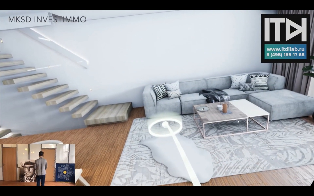 Специалисты компании ITDILAB  разработали тур по коттеджу в очках VR для австрийского проекта HayHills