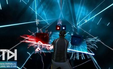 Интерактивная зона виртуальной реальности DJ Джедай от ITDILAB